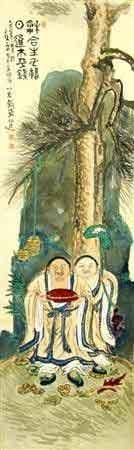 日本画家富冈铁斋14幅未发表作品被发现