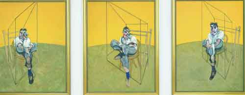 史上最贵拍卖艺术品 培根三联画1.42亿美元