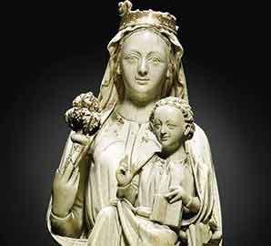 13世纪牙雕艺术品登拍场:曾一度被当作赝品