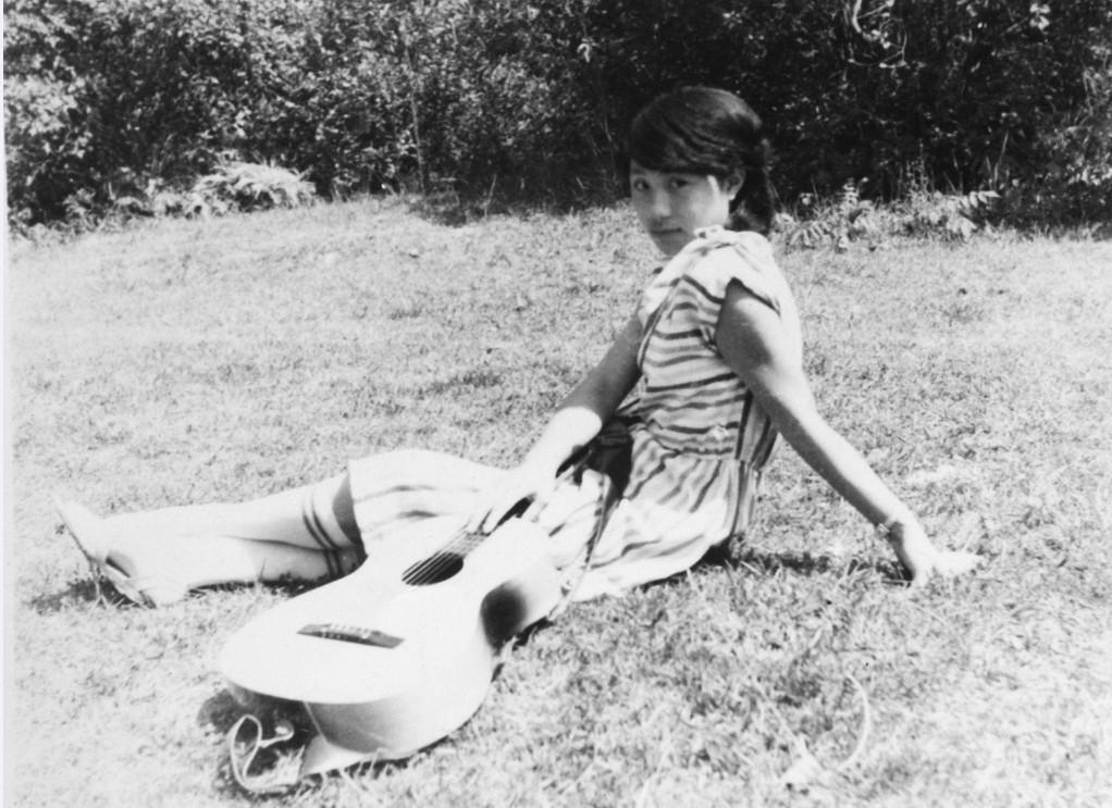 作者胡周琴――学生时代照片