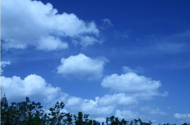 蓝天白云免费素材下载一