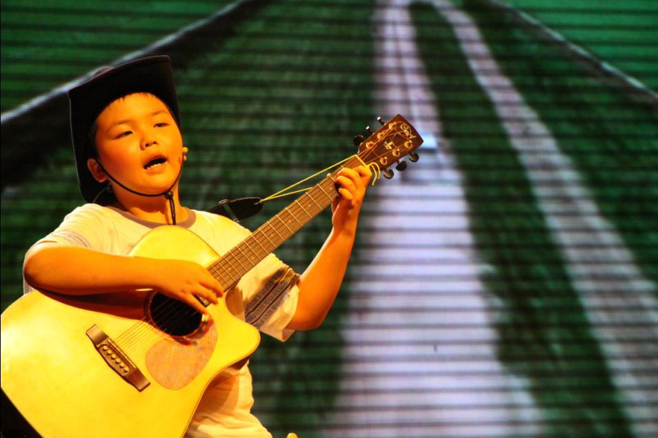 吉它歌手――华华中华拍摄