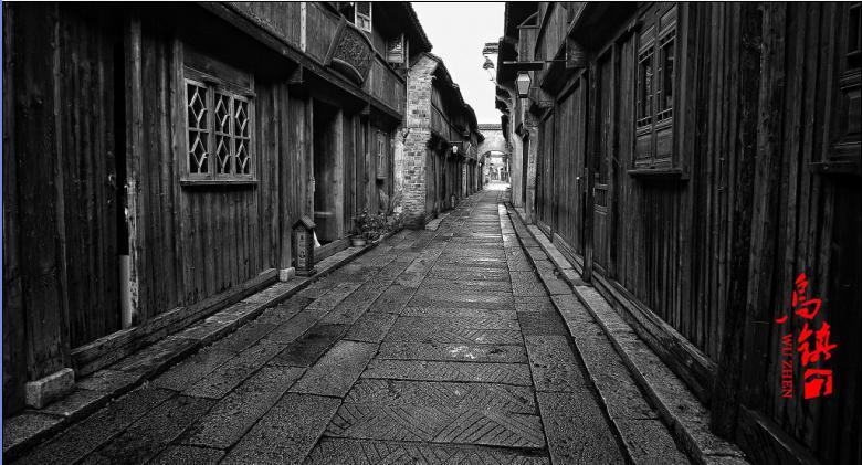 古镇小巷(石板路)