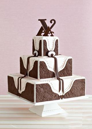 最漂亮的美式婚礼蛋糕/深圳刘科元蛋糕学校