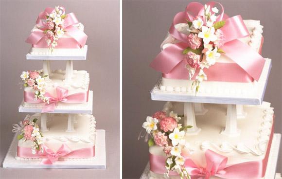 漂亮婚礼蛋糕图片