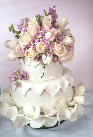 婚礼蛋糕图片