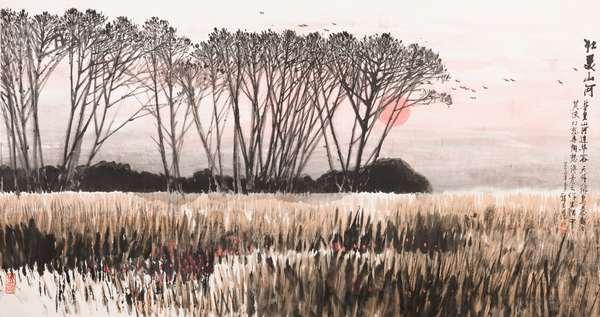 自然天成・品读郑玉昆先生的画