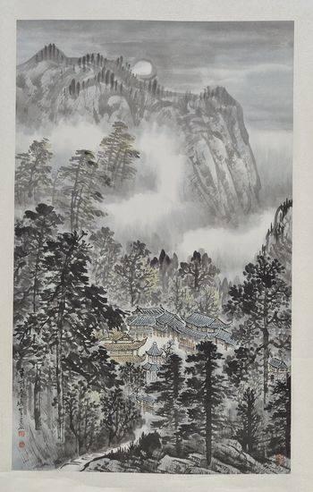 四川·中国书画展在北京首都博物院开幕