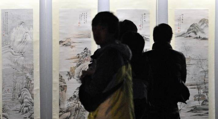 上海举办世博三周年暨诗迪艺术展