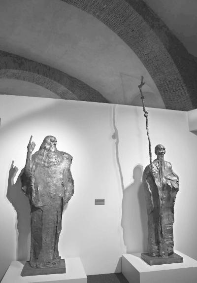 吴为山雕塑入藏意大利国家博物馆