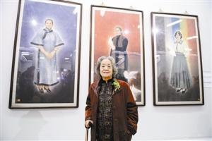蒋彩苹国画作品展在中国美术馆举行
