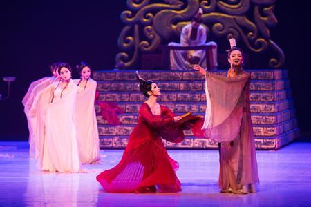 大型舞剧《孔子》纽约林肯中心起舞
