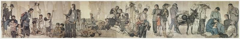 国画大师蒋兆和与他的《流民图》