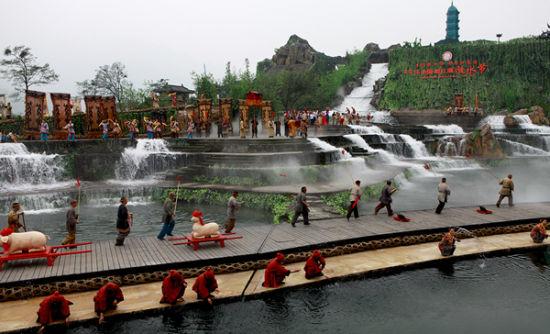 都江堰放水节深入中国深厚的文化