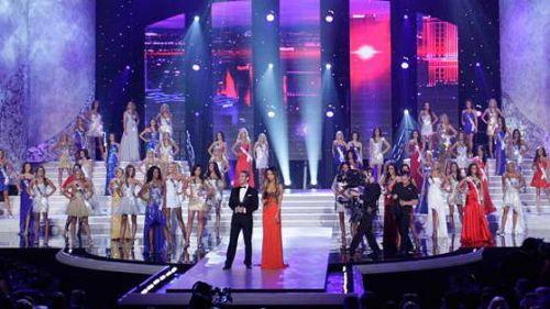 2011美国小姐出炉 洛杉矶女孩桂冠