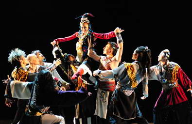 海外版舞剧《文成公主》来华演出