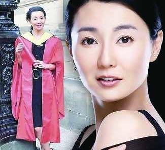 张曼玉演艺成就非凡 获爱丁堡大学荣誉博士