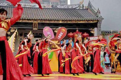 广州举办广府庙会弘扬岭南文化