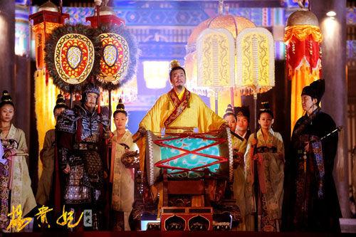 历史大剧《杨贵妃秘史》展现美轮美奂的恢弘场面