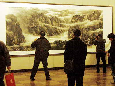 各地艺术展给春节文化增加风采