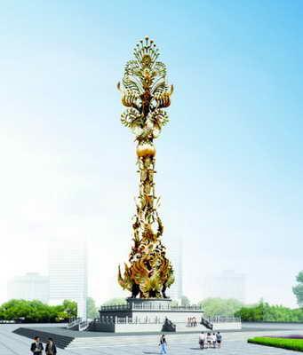 城市雕塑应该体现一个城市精神