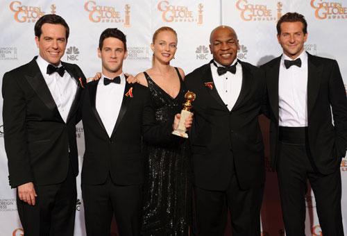 拳王泰森获电影金球奖 从小崇拜中国的英雄