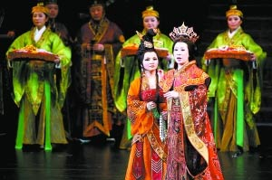 舞剧《丝路花雨》赴美演出 再现敦煌艺术