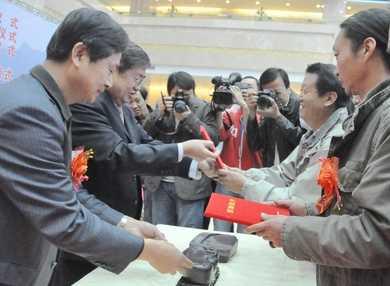 宁夏举办贺兰石设计大赛 60多名家展现砚刻精品
