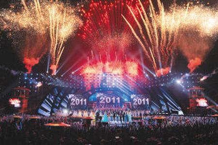 承德国际旅游文化节开幕 国际管乐乐团给力
