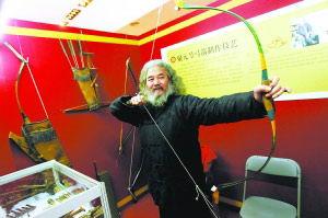 北京艺人展绝技来丰富市民文化活动