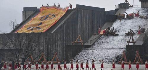都江堰举办最大规模放水节 并申报世界文化遗产