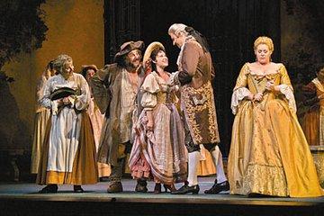 歌剧《费加罗的婚礼》8月登台演出