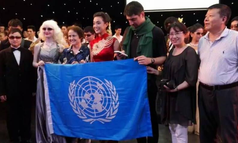 冯立环作品《和平颂》被国际科学与和平周收藏