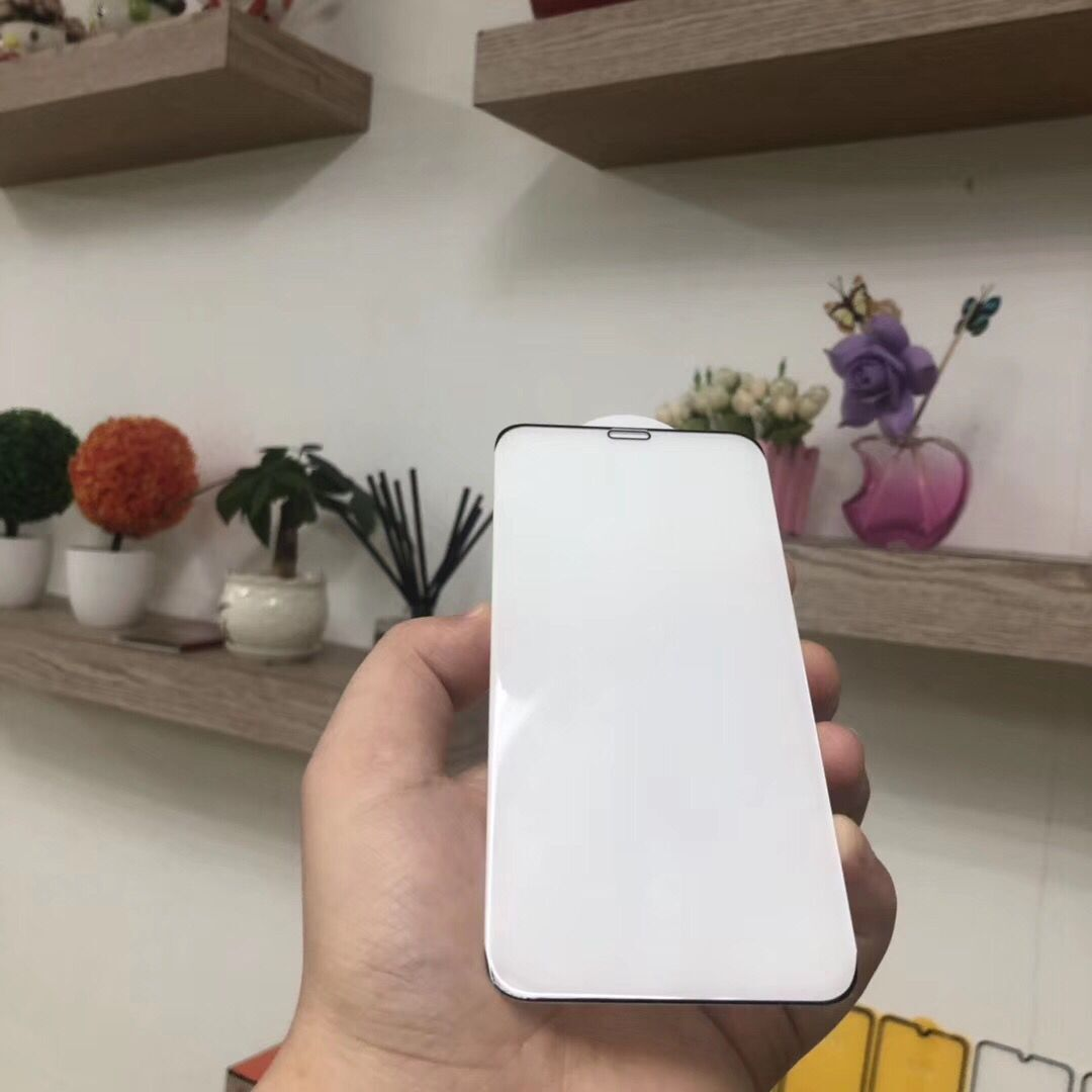 IPHONE苹果系列 无边白板不遮屏手机贴膜钢化膜