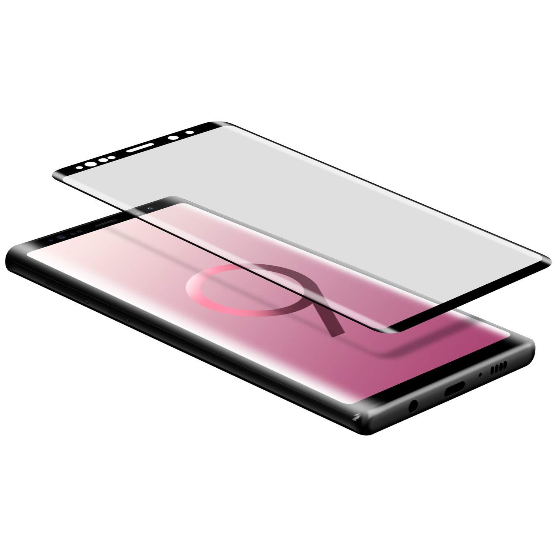 三星Note9手机玻璃钢化贴膜 0.25mm纤薄 3D曲面全屏贴合 Samsung Galaxy Note 9 3D曲面全屏玻璃膜 日本旭硝子材质 9H 高透 防爆保护膜 1