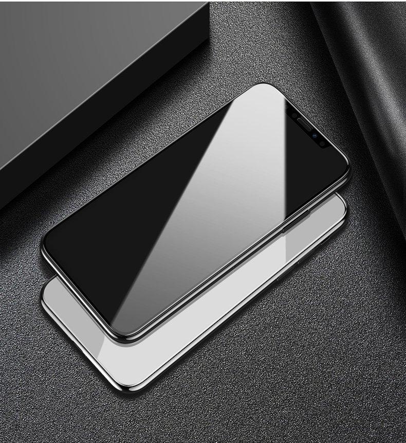 苹果iPhoneX/XS/5.8全屏大弧满屏高清冷雕带防尘网手机贴膜钢化膜 iPhoneX/XS/5.8钢化膜  全覆盖曲线保护  苹果iPhoneX/XS/5.8钢化膜 iPhoneX/XS/5.8贴膜 (iPhoneX/XS/5.8曲面膜 )