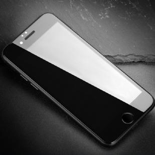 苹果iPhone6P/5.5全屏大弧满屏高清冷雕带防尘网手机贴膜钢化膜