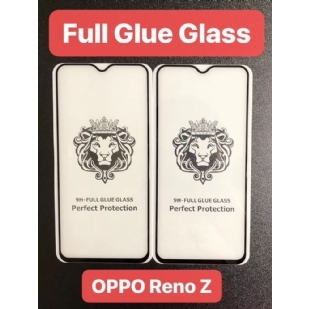 OPPO Reno Z狮子头全屏大弧满屏9D二强丝印手机贴膜钢化膜