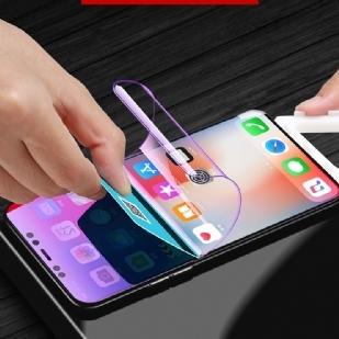 苹果iphonex全屏覆盖手机贴膜水凝膜