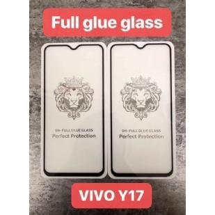 VIVO Y17狮子头全屏大弧满屏9D二强丝印手机贴膜钢化膜