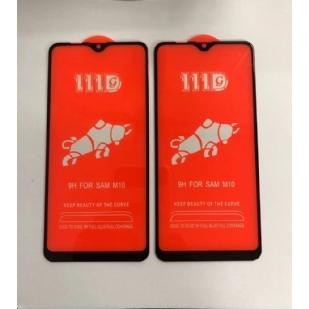 三星M10全屏大弧满屏111D二强丝印手机贴膜钢化膜