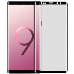 三星Note9手机玻璃钢化贴膜 0.25mm纤薄 3D曲面全屏贴合 Samsung Galaxy Note 9 3D曲面全屏玻璃膜 日本旭硝子材质 9H 高透 防爆保护膜(全屏版/缩小版皮套专用/3D内缩版)