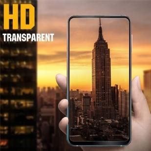 三星Galaxy A60 手机贴膜屏幕保护膜,全覆盖保护膜 [防刮擦] [防指纹] [无气泡],9H 钢化玻璃膜 Samsung Galaxy A60