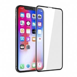 苹果新品IPHONEX/XS/XR/XS max/全屏滴胶大弧满屏10D+二强丝印手机贴膜钢化膜