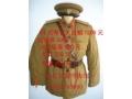 55式军服.55式陆军尉官冬季棉衣套装