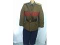 55式军服.55式空军尉官棉衣套装