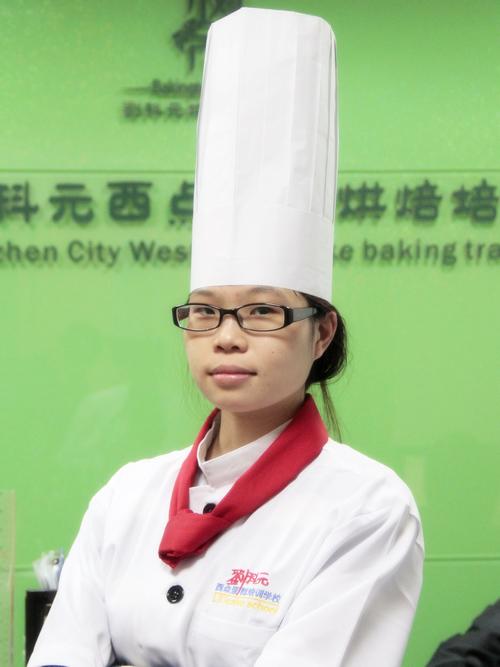 刘科元西点蛋糕烘焙培训学校:张英萍老师