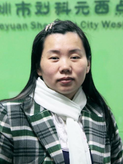刘科元西点蛋糕烘焙培训学校行政主管:刘云芳老师