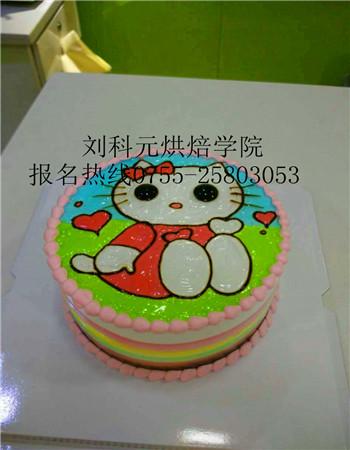 卡通头像蛋糕  6款:          刘科元西点蛋糕咖啡烘焙学院  欢迎