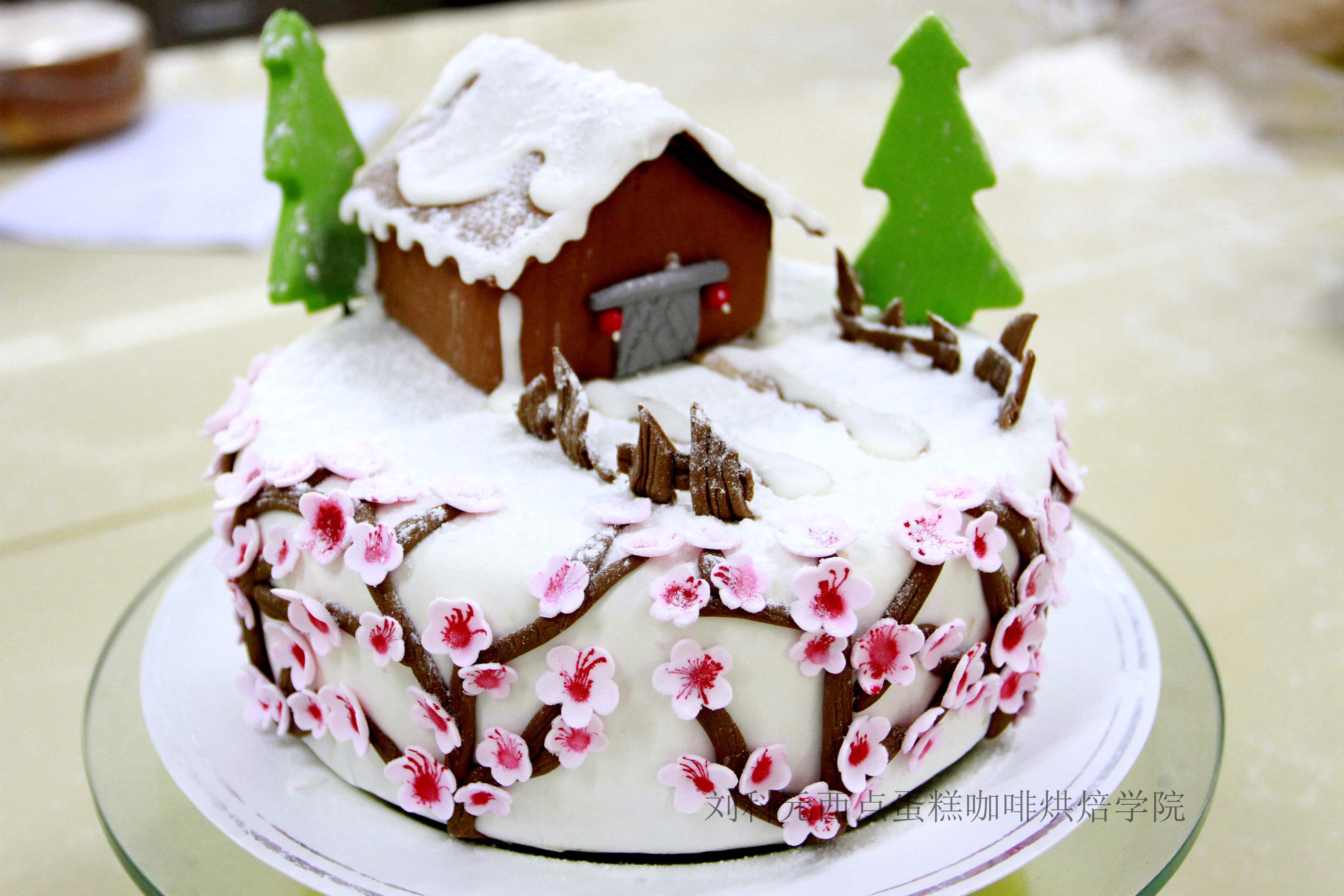 翻糖蛋糕图片,深圳翻糖蛋糕培训,好看的翻糖蛋糕,流行翻糖蛋糕